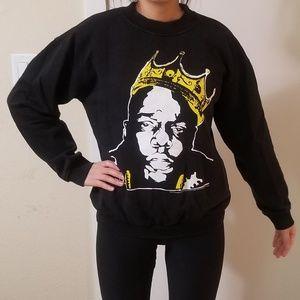 Asos biggie smalls sweatshirt